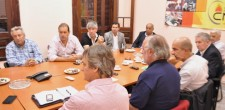 Mesa de Economia Solidaria en la CNCT