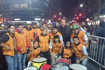 Christian Miño_Acto Bauen_Banda de Juventud Fecootraun