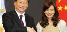CFK y pte. de China