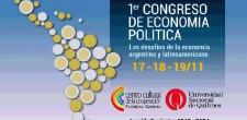 Comenzó el Primer Congreso de Economía Política que se extenderá hasta mañana. Se debate sobre la economía solidaria y el cooperativismo