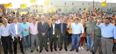FECOOTRAUN Varela recibió el acta de inicio y finalización de obra para la recuperación del barrio Las Margaritas
