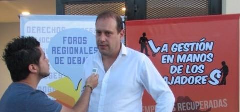 """Christian Miño a Radio GBA: """"Trabajo para que todas las cooperativas del país se sigan consolidando"""""""