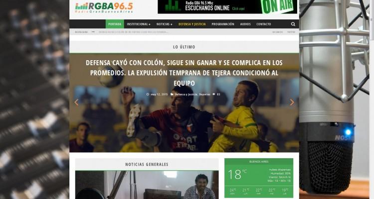 Nuevo Portal Web_Radio GBA