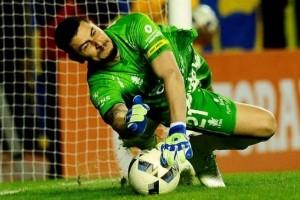 boca 0 - defe 0_Arias atajando penal